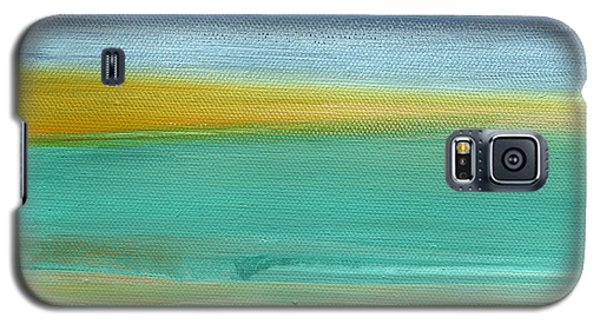 Ocean Blue 3- Art By Linda Woods Galaxy S5 Case