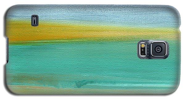 Ocean Blue 3- Art By Linda Woods Galaxy S5 Case