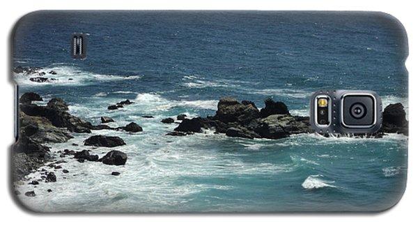 Ocean Blue Galaxy S5 Case by Carla Carson