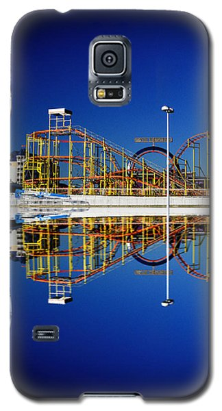 Ocean City Amusement Pier Reflections Galaxy S5 Case