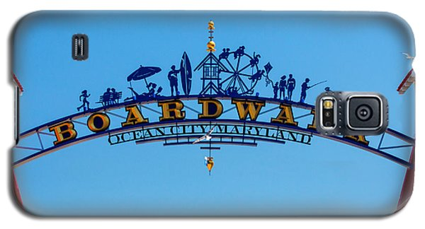 Ocean City Boardwalk Arch Galaxy S5 Case