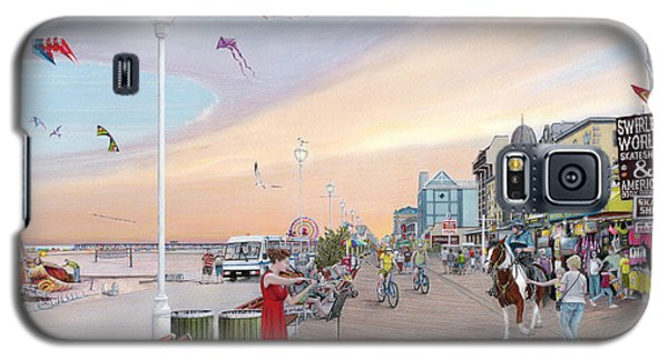 Ocean City Maryland Galaxy S5 Case by Albert Puskaric