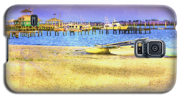 Coastal - Beach - Boats - Ocean Front Property Galaxy S5 Case
