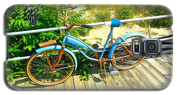Galaxy S5 Case featuring the photograph Ocean Grove Bike by Joan Reese