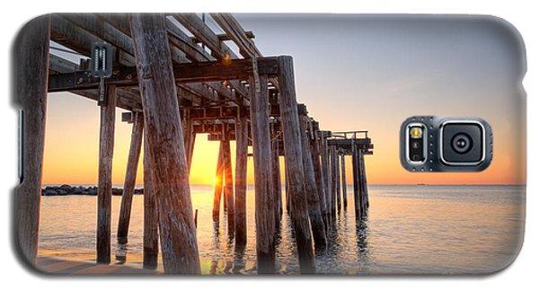 Ocean Grove Pier Sunrise Galaxy S5 Case