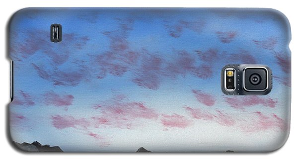 Galaxy S5 Case featuring the painting Ocean Islands by Jennifer Muller