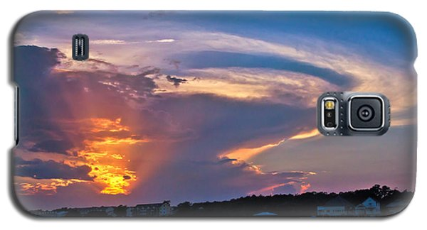 Ocean Isle Sunset Galaxy S5 Case