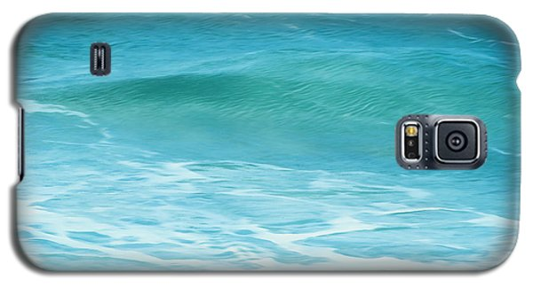 Galaxy S5 Case featuring the photograph Ocean Lullaby by Roselynne Broussard