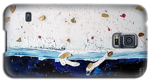 Ocean Of Leaves Galaxy S5 Case