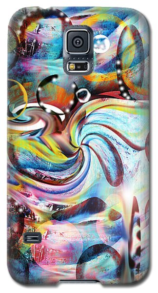 Galaxy S5 Case featuring the painting Ocean Run by Yul Olaivar