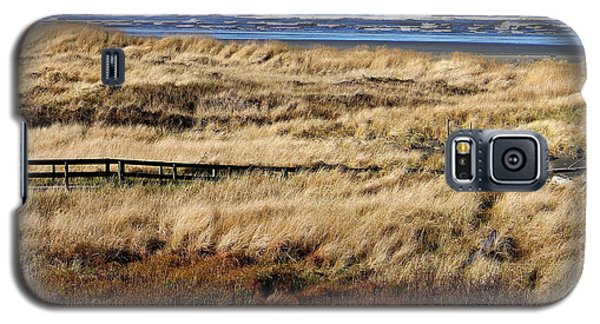 Galaxy S5 Case featuring the photograph Ocean Shores Boardwalk by Jeanette C Landstrom