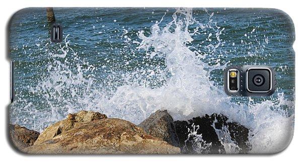 Galaxy S5 Case featuring the photograph Ocean Spray by John Mathews