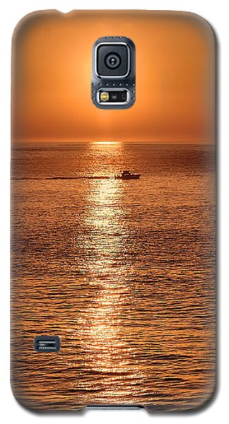 Ocean Sunrise At Montauk Point Galaxy S5 Case