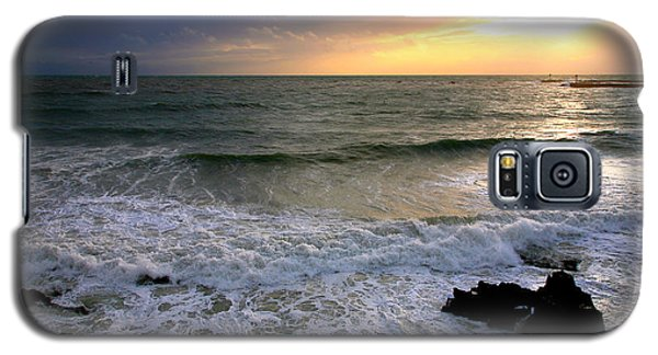 Ocean Sunset 84 Galaxy S5 Case