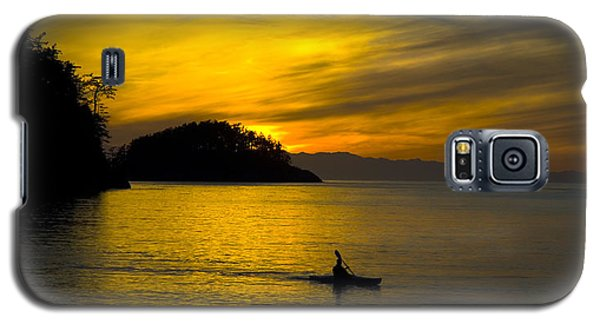 Ocean Sunset At Rosario Strait Galaxy S5 Case