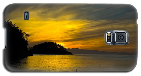 Ocean Sunset At Rosario Strait Galaxy S5 Case