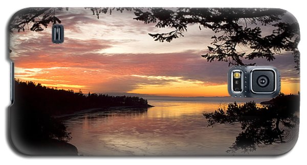 Ocean Sunset Deception Pass Galaxy S5 Case