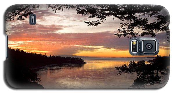 Ocean Sunset Deception Pass Galaxy S5 Case