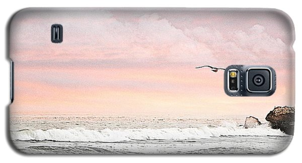 Galaxy S5 Case featuring the photograph Ocean Sunset by Kathy Churchman