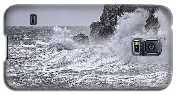 Ocean Surge At Gulliver's Galaxy S5 Case by Marty Saccone