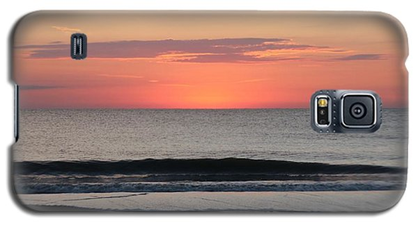 Galaxy S5 Case featuring the photograph Ocean Trails by Robert Banach