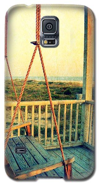 Ocean View At Oak Island 2 Galaxy S5 Case by Kelly Nowak