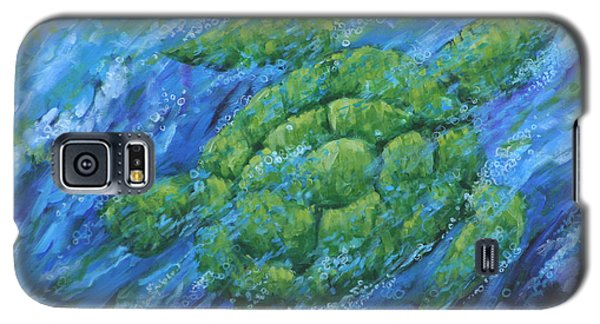 Galaxy S5 Case featuring the painting Ocean Voyager by Penny Birch-Williams