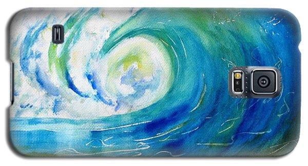 Ocean Wave Galaxy S5 Case by Carlin Blahnik
