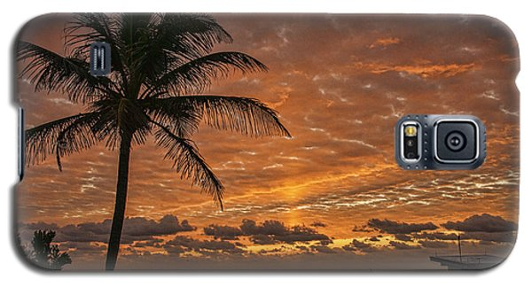 Oceanfront Park Sunrise 2 Galaxy S5 Case