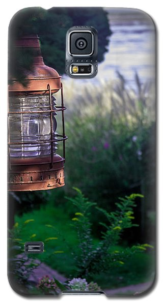 Galaxy S5 Case featuring the photograph Oceanside Lantern by Patrice Zinck