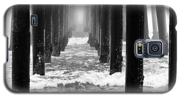 Oceanside Pier In Fog Galaxy S5 Case