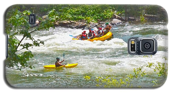 Ocoee White Water Galaxy S5 Case by Carol  Bradley
