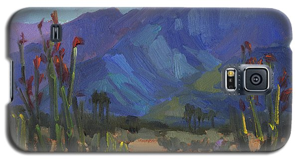 Ocotillos At Smoke Tree Ranch Galaxy S5 Case by Diane McClary