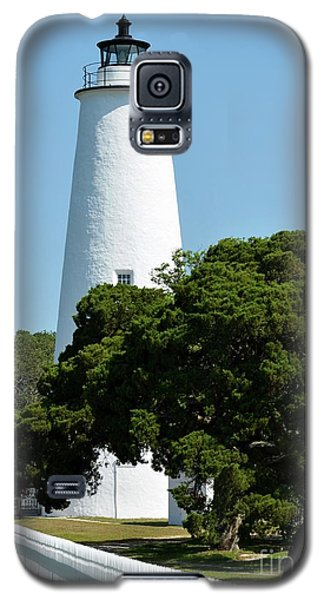 Galaxy S5 Case featuring the photograph Ocracoke Island Light by Mel Steinhauer