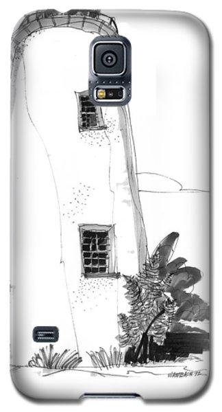 Ocracoke Light 1970s Galaxy S5 Case