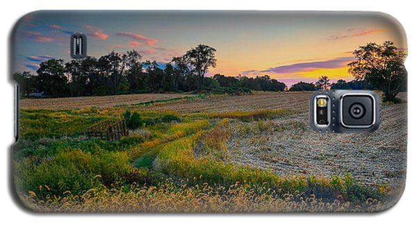 October Evening On The Farm Galaxy S5 Case