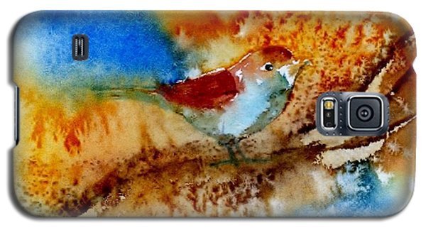 Galaxy S5 Case featuring the painting October Fifth by Anne Duke