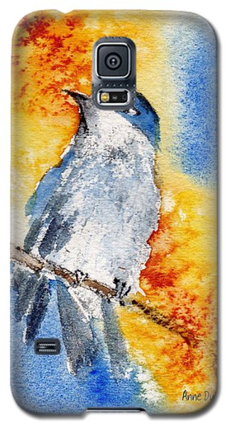 Galaxy S5 Case featuring the painting October First by Anne Duke