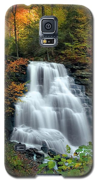October Foliage Surrounding Erie Falls Galaxy S5 Case