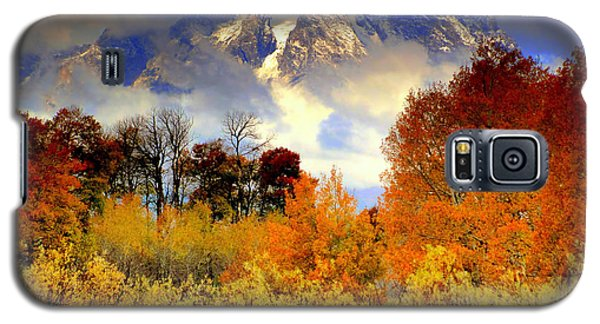 October In Grand Tetons Galaxy S5 Case by Irina Hays