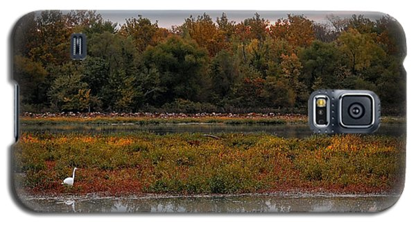 Galaxy S5 Case featuring the photograph October Morning by Lena Wilhite