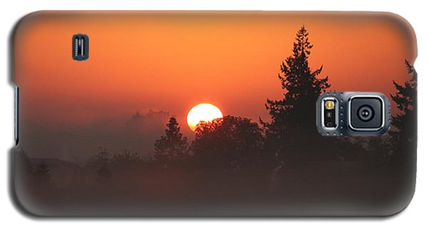 October Orange Galaxy S5 Case