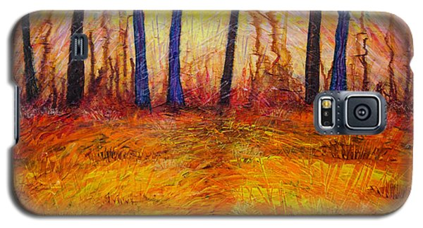 October-revisited Galaxy S5 Case by Ron Richard Baviello