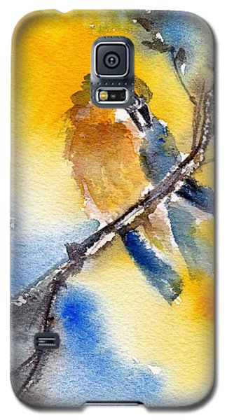 Galaxy S5 Case featuring the painting October Second by Anne Duke