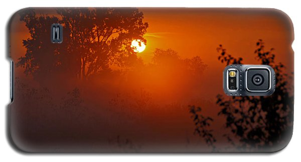 October Sunrise Galaxy S5 Case by Judy  Johnson