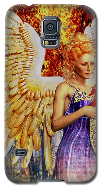 October's Angel Galaxy S5 Case by Suzanne Silvir