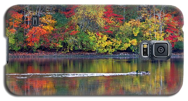 Galaxy S5 Case featuring the photograph October's Colors by Dianne Cowen
