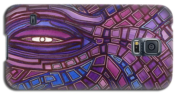 Octopus Eye Galaxy S5 Case by Barbara St Jean