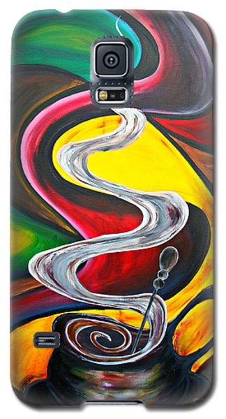 Ode To Coffee... Galaxy S5 Case by Jolanta Anna Karolska