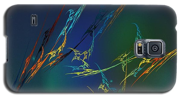 Galaxy S5 Case featuring the digital art Ode To Joy by David Lane